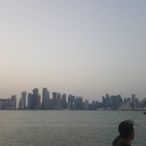 Doha panoramic View from Dhow cruise 11