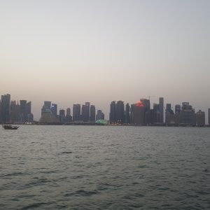 Doha panoramic View from Dhow cruise 13