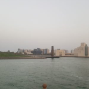 Doha panoramic View from Dhow cruise 15