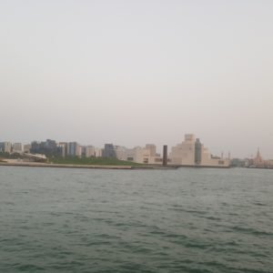 Doha panoramic View from Dhow cruise 16