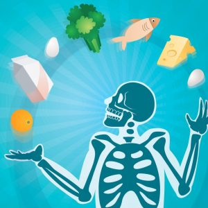 Healthy food for healthy bones