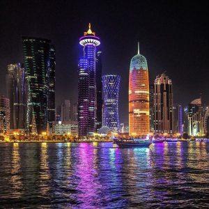 Doha panorama view