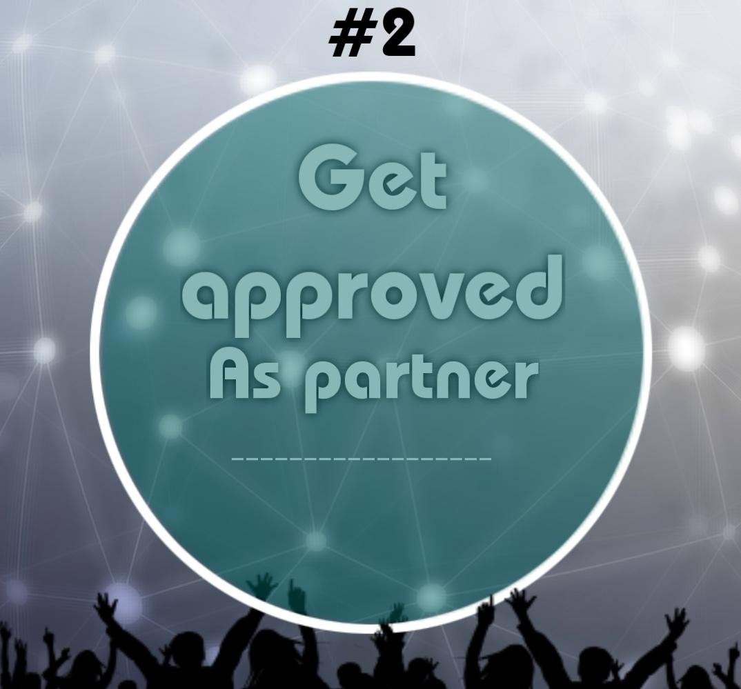 get approved as partner